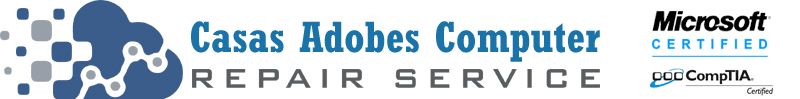 Call Casas Adobes Computer Repair Service at 520-526-9940